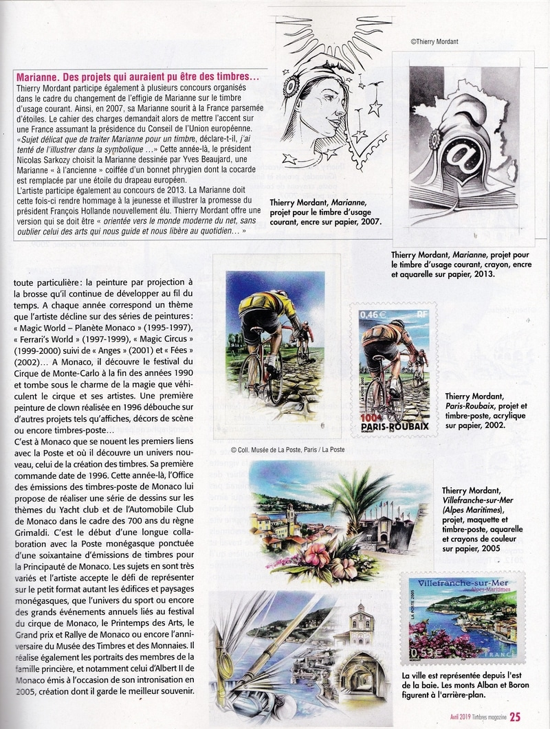 Article PRESSE TIMBRES MAG avril 2019 Page 2 BDEF