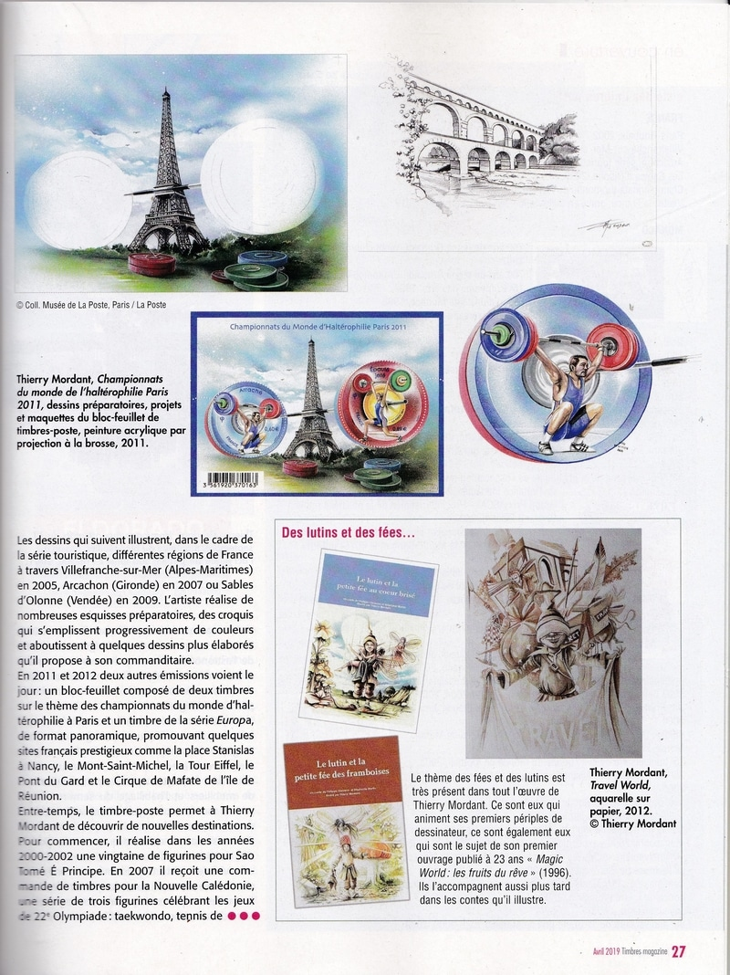 Article PRESSE TIMBRES MAG avril 2019 Page 4 BDEF