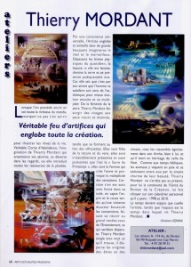 article ARTS ACTU MAG SEPT2004